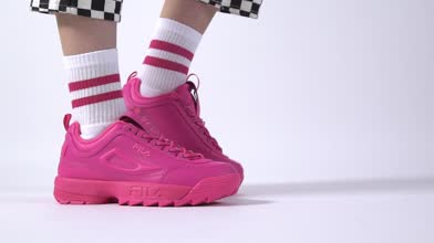 Damen fila Pink Disruptor Ii Premium Sneaker